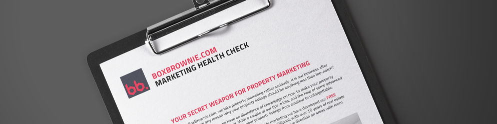 REAL ESTATE MARKETING HEALTH CHECK - EPISODE 1
